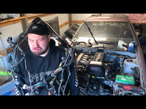 Beams AE86 Stand Alone ECU And Wiring Harness Install!
