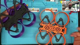 Cyclone Cyne-One Carbon Fiber and 3D Printed Cinewhoop DIY Frame Kit