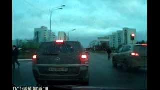 авария в Краснознаменске