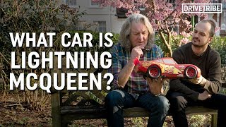 What kind of car is Lightning McQueen from Cars? Ft James May