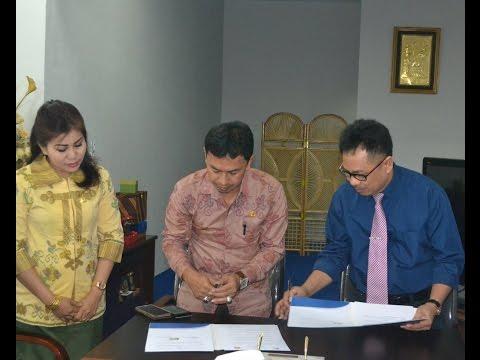 Dok Humas Untad, Penandatangan MoU Antara Kabupaten Sigi dengan Universitas Tadulako 26 Februari 2016