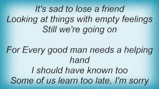Abba - Every Good Man Lyrics