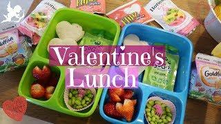 Valentine's Day School Lunch Ideas! 💕 Week 15   Sarah Rae Vlogas  
