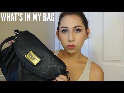 What's In My Bag | Marc Jacobs Classic Natasha Q