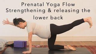 Prenatal Yoga Flow - lower back 30min