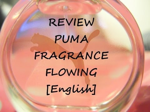 English Review: Puma Fragrance Flowing Woman - free shower radio (Test Puma Eau de Toilette)