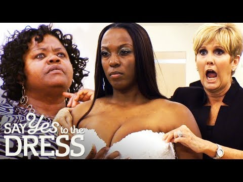 Mum Doesn't Want Daughter To Look 'Hoochie' On Her Wedding Day! | Say Yes To The Dress Atlanta