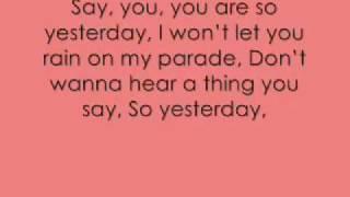 Toni Baxton ft Trey Songz   Yesterday Lyrics