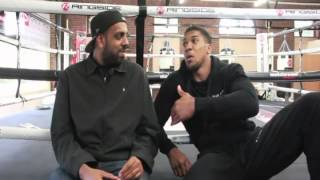 "Anthony Joshua Talks About Aji ""The General Sharif "" - with IFL TV - Kugan Cassius"