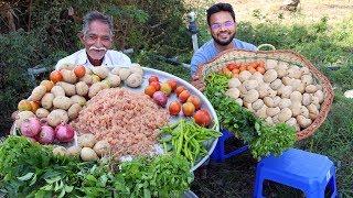 American Potato Chicken Curry | Yummy Chicken Keema Potato Recipe | Grandpa Kitchen