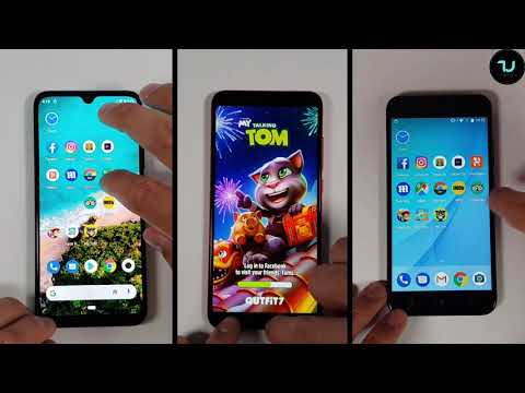 Xiaomi Mi A3 vs MI A2 vs MI A1 Speed test/Performance Snapdragon 665 vs 660 vs 625