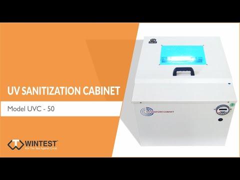 Uv Sanitization Cabinet- Capacity 50 Litre