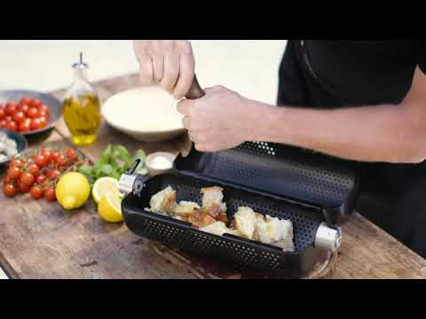 Prawn & Tomato Panzanella - Using the rotisserie basket on the FUSION™/HUB™
