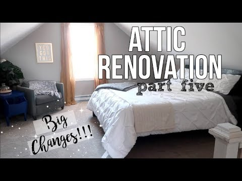 HOME RENOVATION | ATTIC MASTER BEDROOM | BIG CHANGES | PT. 5