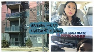 Searching an apartment in Canada| Indian Youtuber