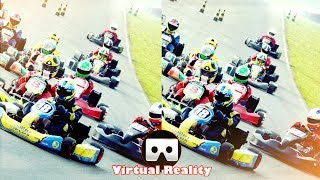3D REAL KART VR Videos 3D SBS Google Cardboard VR Experience VR Box Virtual Reality Video