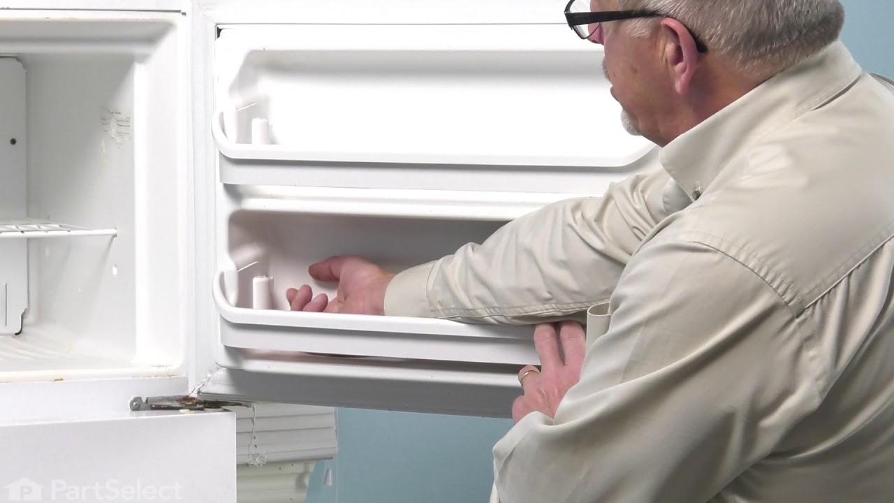 Replacing your Kenmore Refrigerator Door Rack