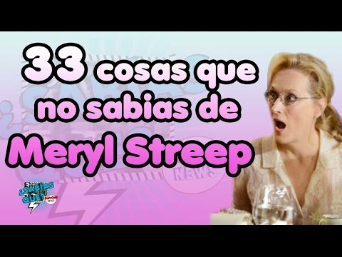 33 Curiosidades de Meryl Streep -¿Sabías que..?#21- Popcorn News