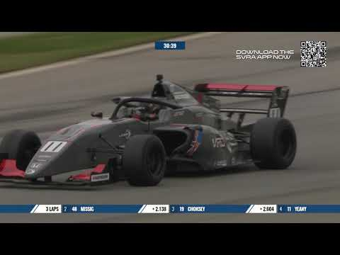 Full Race Replay Race 3: FR Americas Drivers Battle Mixed Track Conditions at Road Atlanta