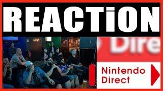 (REACTION) Nintendo Direct | E3 2018 | Nintendo E3 | Meltdown Cologne