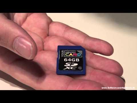 Günstige SD-Karte - Your Memory 64 GB