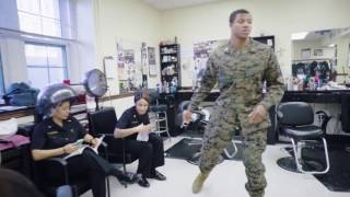 #OptimisticChallenge - [Navy Barbershop]