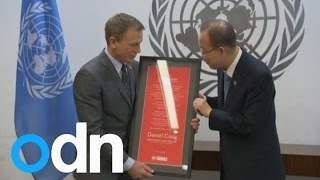 Bond star Daniel Craig gets special UN landmines mission