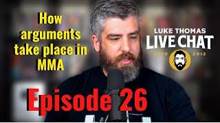 Jon Jones Arrest Fallout, 165lbs Division, Top Comedians | Live chat, ep. 26 | Luke Thomas