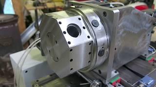 CNC Lathe Turning Build