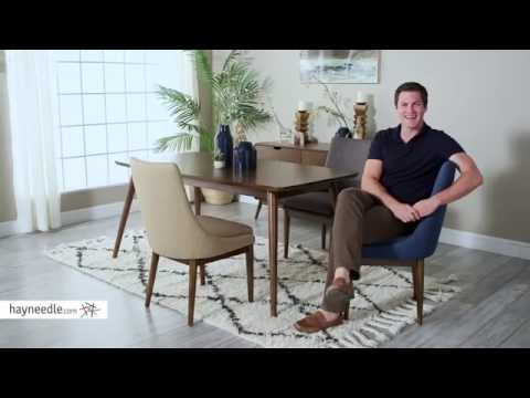 Belham Living Carter Mid Century Modern Upholstered Dining Chair - Set of 2 - Product Review Video