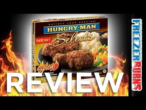 Hungry-Man Selects Spicy Classic Fried Chicken Video Review: Freezerburns (Ep642)