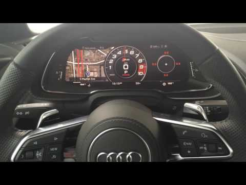 2017 Audi R8 V10 Plus Engine Start, Revving, and Acceleration