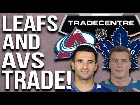 Maple Leafs and Avalanche make a massive trade!