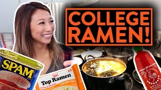 BEST RAMEN RECIPES TO MAKE IN COLLEGE! | Fung Bros