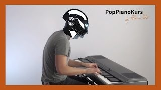Daft Punk   Get Lucky Piano Cover Instrumental