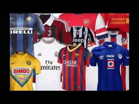 Camisetas nuevas y oficiales equipos de fútbol | Noticias