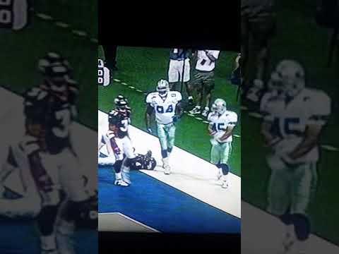 Dat Nguyen first NFL sack vs Bubby Brister
