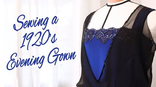 Sewing A 1920s Evening Gown