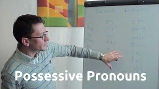 Притяжательные местоимения (possessive pronouns) в английском языке
