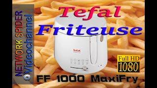 Friteuse Tefal FF1000 Maxi Fry - mit Biskin Fritieröl bis 210 Grad, im Test