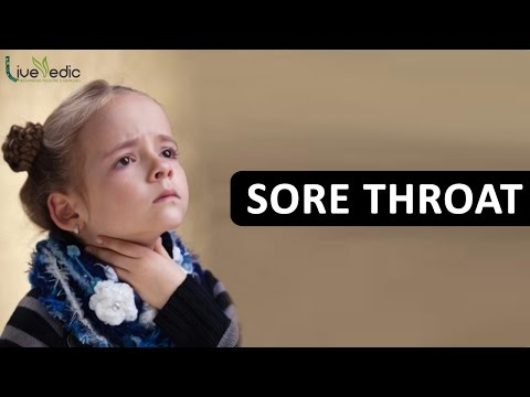 Video DIY: Best Cure For Kids Sore Throat with Natural Home Remedies | LIVE VEDIC