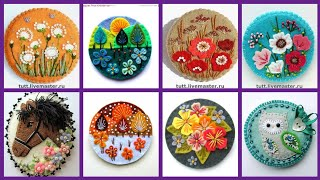 Felt Embroidery,Felt Flowers,Felt Applique,Felt Art,Felt Broch,Wool Felt Ideas.