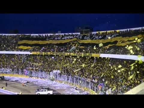 """LA GLORIOSA ULTRA SUR 34 Recibimiento The strongest - Atletico Paranaense"" Barra: La Gloriosa Ultra Sur 34 • Club: The Strongest"