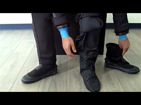 How to Install the Fusion Scuba Diving Drysuit Boot