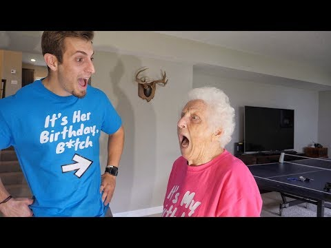 You Will Never Believe What I Got My Grandma For Her 92nd Birthday!
