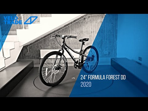 "Велосипед 24"" Formula FOREST DD 2020: video"