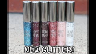 REVIEW NEW Urban Decay Heavy Metal Glitter Eyeliners