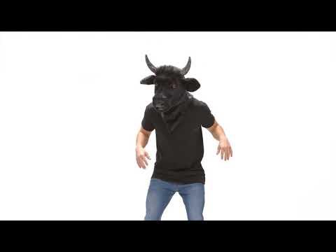 Máscara de Toro con mandíbula móvil | ¡SÚPER REALISTA!
