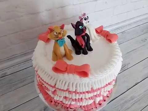 Идея торта на тему коты аристократы