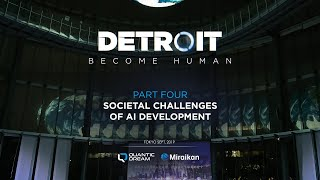 Societal challenges of AI development